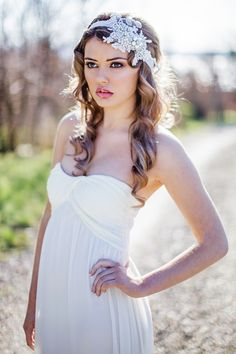 Megan Therese ~  Couture Wedding Veils and Headpieces. http://www.couturebridalaccessories.co.uk/index.php