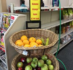 This CVS store is implementing a practice, displaying fresh produce in different parts of the store such as the entrance area., Washington D. Made Goods, Entrance, Washington, Fresh, Vegetables, Store, Healthy, Entryway, Tent