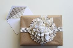 Compai's {earth friendly} gift wrapping ideas by justinablakeney, via Flickr