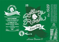 2016 Rolling Rock Beer Can Rolling Rock Beer e1692d3fc93