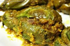 Jayati's Food Journey - Enjoy!!!: Stuffed Eggplant