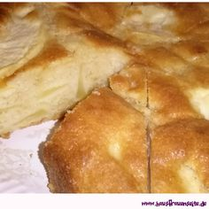 Apfelkuchen mit Rührteig Sweets, Bread, Food, Apple Recipes, Pears, Food And Drinks, Cooking, Gummi Candy, Candy