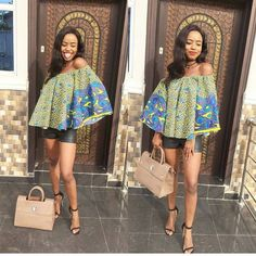Top Ten Unique African Ankara Dresses For Beautiful Ladies | Dabonke
