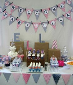 Nautical Baby Shower   Time for the Holidays
