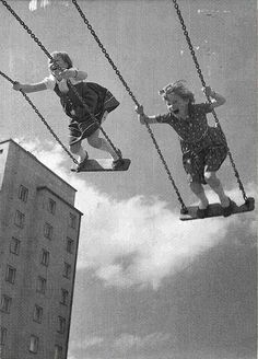 "nothing quite like this nowadays with all the ""safe"" playground equipment"