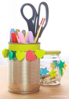 Decorar-latas-How-to-decorate-cans