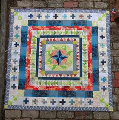 The Elven Garden: Marcelle Medallion {Blogger's Quilt Festival}