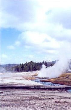 Road trip ideas Hundreds of thermals steam and gurgle at Yellowstone National Park