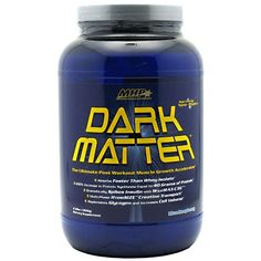 MHP Dark Matter is the high quality post workout supplement; quite effective after workout. Faster as compared to the whey protein supplements, this supplement accelerates the muscle building process.