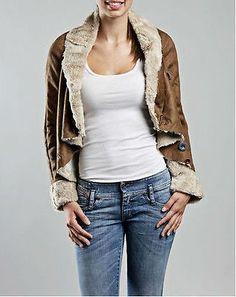 Desigual women's embroidery applique short jacket coat size 38