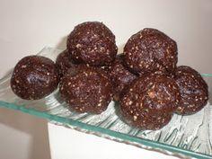 La cuisine de Radisjoli: Boules chocolatées au beurre d'arachides