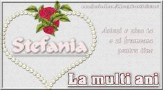 Stefania Astazi e ziua ta o zi frumoasa pentru tine La multi ani Wreaths, Pendant Necklace, Decor, Decoration, Door Wreaths, Deco Mesh Wreaths, Decorating, Floral Arrangements, Garlands