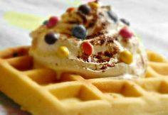 Roppanós gofri | NOSALTY Atkins, Tapas, Paleo, Delish, Sweets, Breakfast, Food, France, Waffles