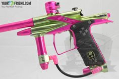 Planet Eclipse SLS Custom Anno'd Lime/Pink