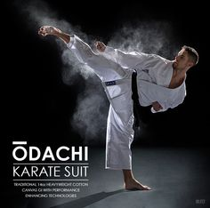 Traditional. Heavyweight. Super-soft. Three key attributes for that extra bit of comfort during the most intense training sessions. Odachi Karate Gi available from £59.99 #karate #new #gi #Odachi #adult #kids #martialarts #heavyweight #traditional #training #competition #14oz