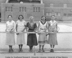 1930s Vintage Women's Tennis Team