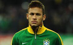 Download wallpapers Neymar JR, footballers, goal, Brazil, brazilian football team, Brazilian soccer team, Neymar, football