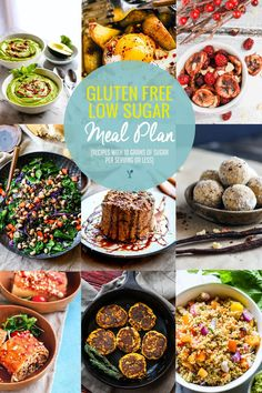 Food plays a key role in reducing inflammation! Here's a grain free and gluten free meal plan full of recipes with healthy anti-inflammatory properties.