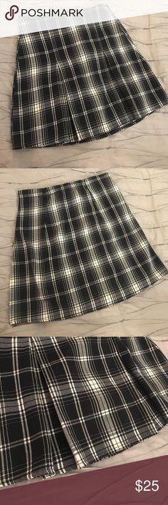 "Brandy Melville Plaid Skirt Great condition. High waisted. ""School Girl Skirt"" Brandy Melville Skirts Mini"