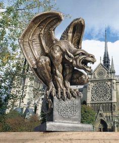 Medieval Winged Gargoyle