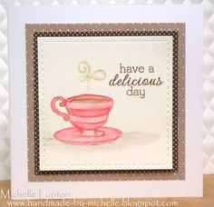 Handmade by Michelle: Coffee Lovers Blog Hop!