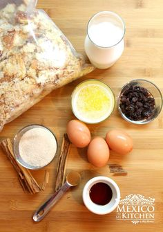 Budín de pan casero, ingredientes, preparalo de manera fácil