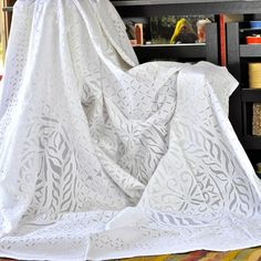 I pinned this Applique King Bed Cover from the Shilpa Rathi event at Joss and Main!