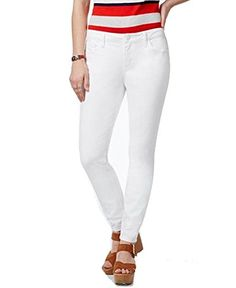 Tommy Hilfiger Womens Skinny Classic Jeans 14 White ** See this great product. (This is an affiliate link) Curvy Jeans, Tommy Hilfiger Women, Classic White, A Boutique, Boyfriend Jeans, Skinny Jeans, Women's Jeans, White Jeans, Jeans Women