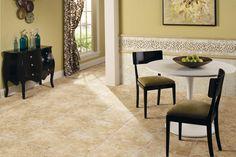 BuildDirect – Porcelain Tile - Fidenza Series – Dorado - Living Room View