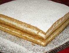 Retete culinare ilustrate: Prajitura Albinutza Romanian Food, Romanian Recipes, Good Food, Yummy Food, Cake Bars, Apple Cake, Holiday Baking, Vanilla Cake, Cheesecake