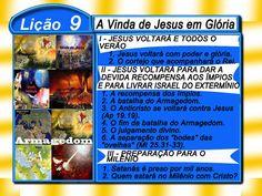 Comentário sobre a lição 09: A Vinda de Jesus em Glória – Ev. Luiz Henrique.