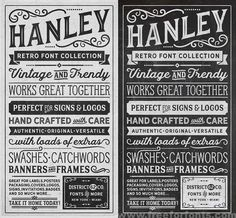 Hanley Font Collection Free Download | Free For Fonts
