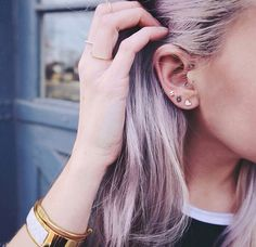 Piercing inspiration: Should I get my tragus pierced? | For more ideas, click the picture or visit www.thedebrief.co.uk