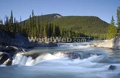 Bragg Creek's Elbow Falls, in Alberta's Kananaskis country #GILOVEALBERTA