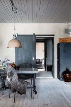A SWEDISH HOME WITH A RAW EDGE   THE STYLE FILES