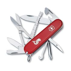 Victorinox Swiss Army Fisherman Pocket Knife (Red),One Size * This is an Amazon Affiliate link. Find out more about the great product at the image link.