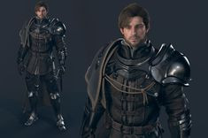 This is Blade 2 company work NPC character is Gott so This is an Unreal 4 project Fantasy Wizard, Fantasy Armor, Medieval Fantasy, Fantasy Character Design, Character Concept, Character Art, Epic Characters, Fantasy Characters, Fantasy Inspiration