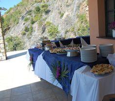 Il tavolo degli antipasti - Appetizer buffet