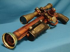 Steampunk Prop Weapon Gun Sci Fi Cosplay My Steampunk Army Victorian on Etsy, $75.00