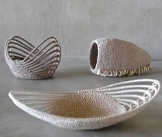 Interwoven Simple African baskets