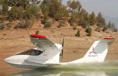 Icon A5 aircraft side view