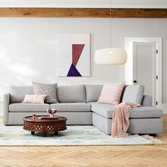 Harris Sectional Set XL Right Arm Sofa, XL Left Arm Terminal Chaise, Poly, Chenille Tweed, Feather Gray Reclining Sectional With Chaise, Large Sectional, Sleeper Sectional, Corner Sectional, U Shaped Sectional, Sofa Seats, Seat Cushions, Sofa Bed, West Elm