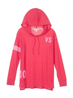 Hooded Graphic Tunic Anytime Tees