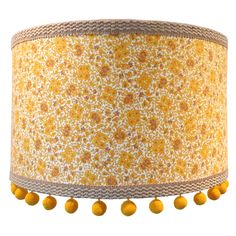 Peggy Pendant Shade in Yellow, Mel Made This