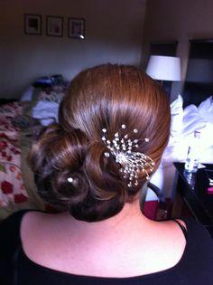 wedding hair by chrisalis hair design