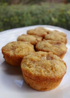 Fried Apple Corn Muffins (uses bought, canned fried apples) | Plain Chicken