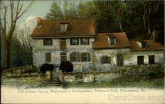 Oldest House in Philadelphia   Old Livezey House, Fairmount Park Philadelphia Pennsylvania