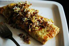 Frittata/Omlet z oliwkami i mozzarellą | (nie) tylko kuchnia