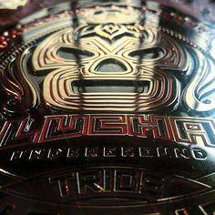 Lucha Underground have some of the best looking belts in all of professional wrestling