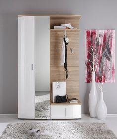 Metall- & Holzoptik vereint: Ihre Garderobe im stilsicheren Look!